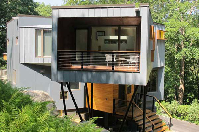 Cabana discret-moderna de Method Design - Poza 9