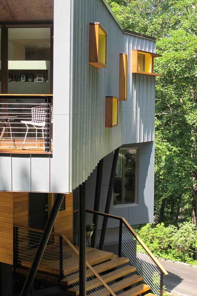 Cabana discret-moderna de Method Design - Poza 10