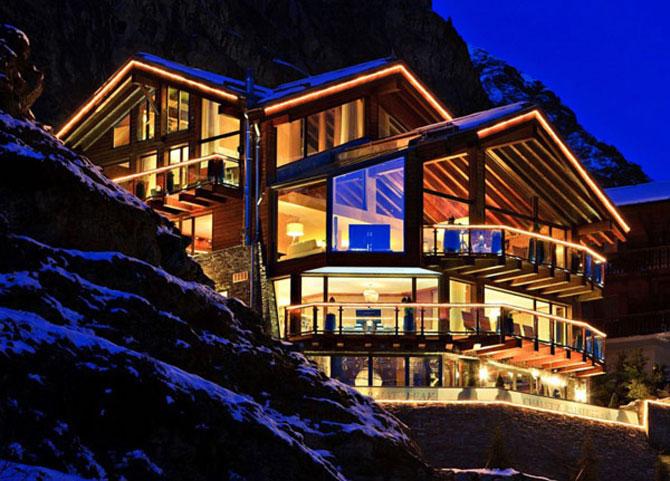 La 6 stele, in Alpii elvetieni - Poza 1