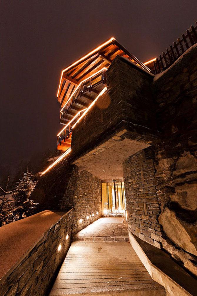 La 6 stele, in Alpii elvetieni - Poza 2