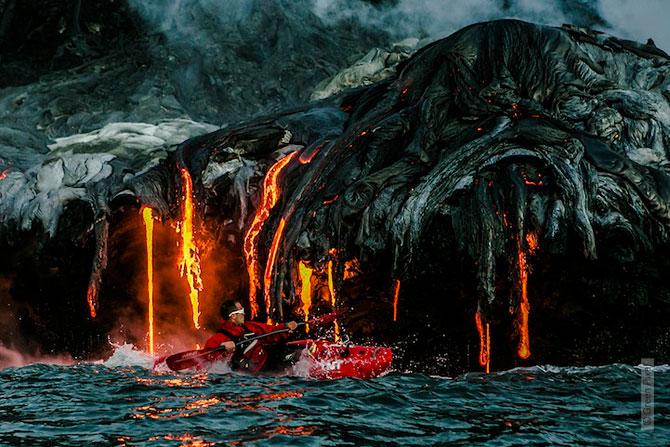 Cu caiacul prin vulcan - Poza 1