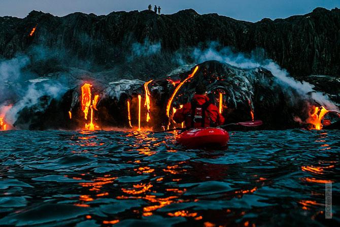 Cu caiacul prin vulcan - Poza 9