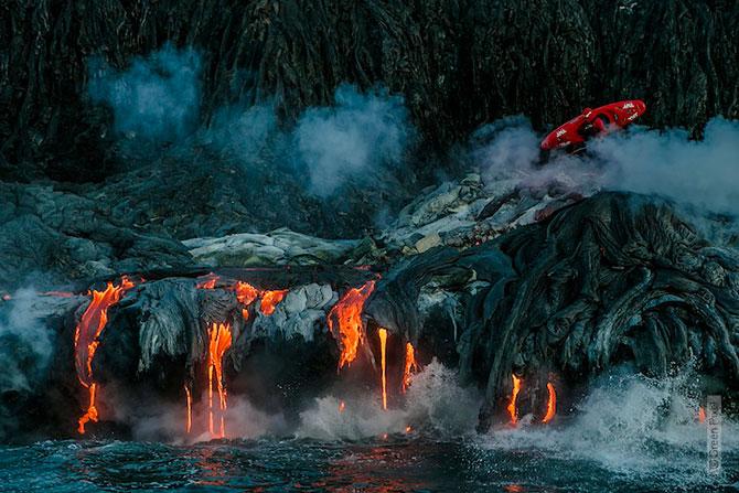 Cu caiacul prin vulcan - Poza 11