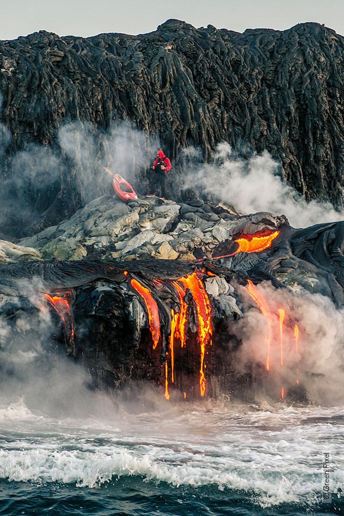 Cu caiacul prin vulcan - Poza 13