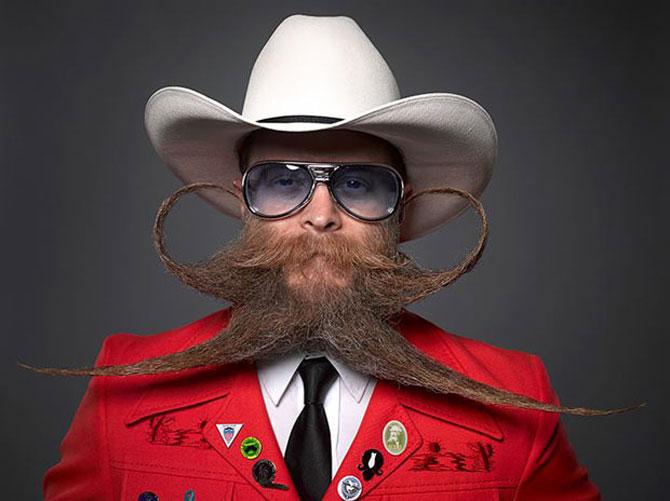 Cele mai creative barbi si mustati din SUA - Poza 1