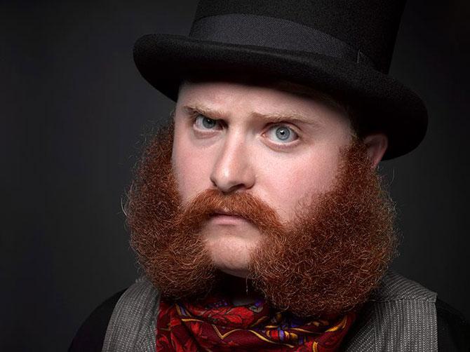 Cele mai creative barbi si mustati din SUA - Poza 4