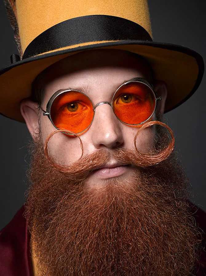 Cele mai creative barbi si mustati din SUA - Poza 6