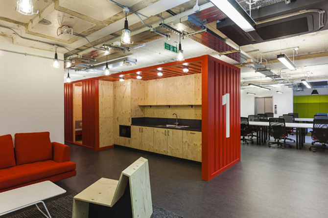 La joaca, la cursuri, la Campusul Google din Londra - Poza 4