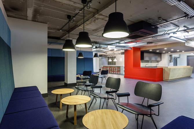 La joaca, la cursuri, la Campusul Google din Londra - Poza 6