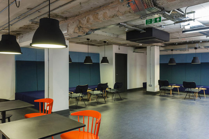 La joaca, la cursuri, la Campusul Google din Londra - Poza 7