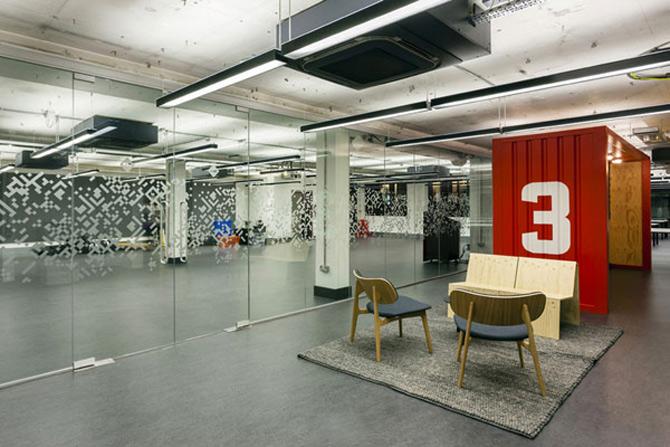 La joaca, la cursuri, la Campusul Google din Londra - Poza 9