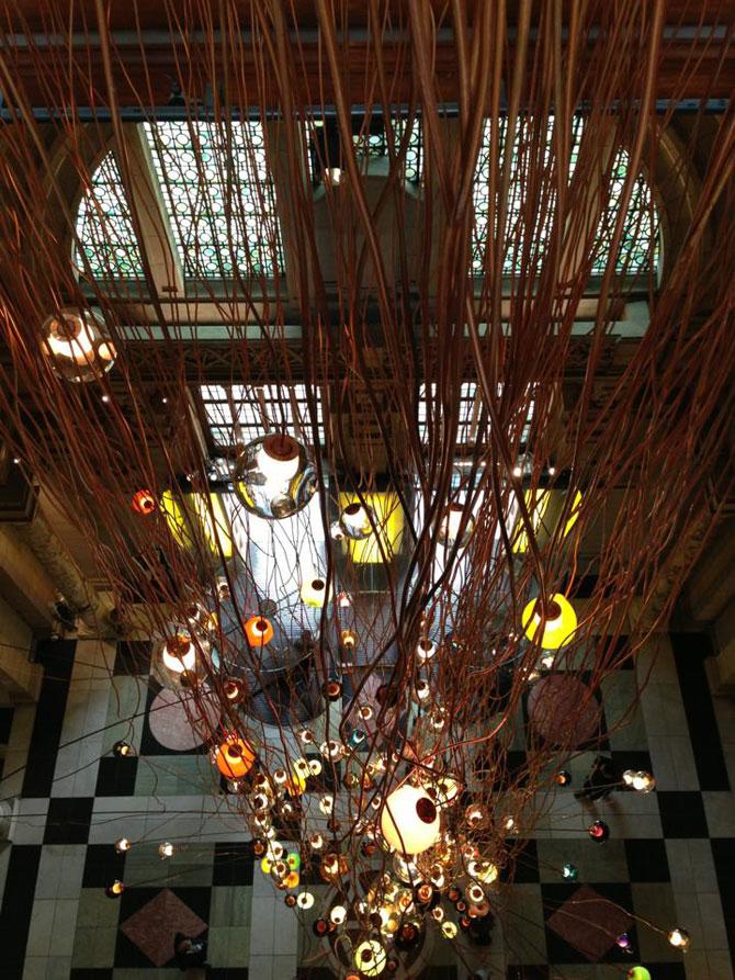 Candelabru de 30 de metri la Londra - Poza 4