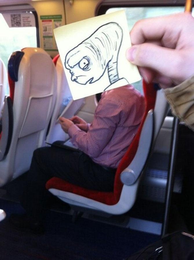 Caricaturi la metrou, de October Jones - Poza 5