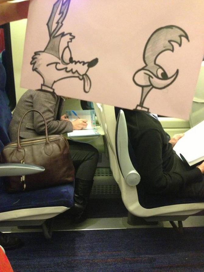Caricaturi la metrou, de October Jones - Poza 6