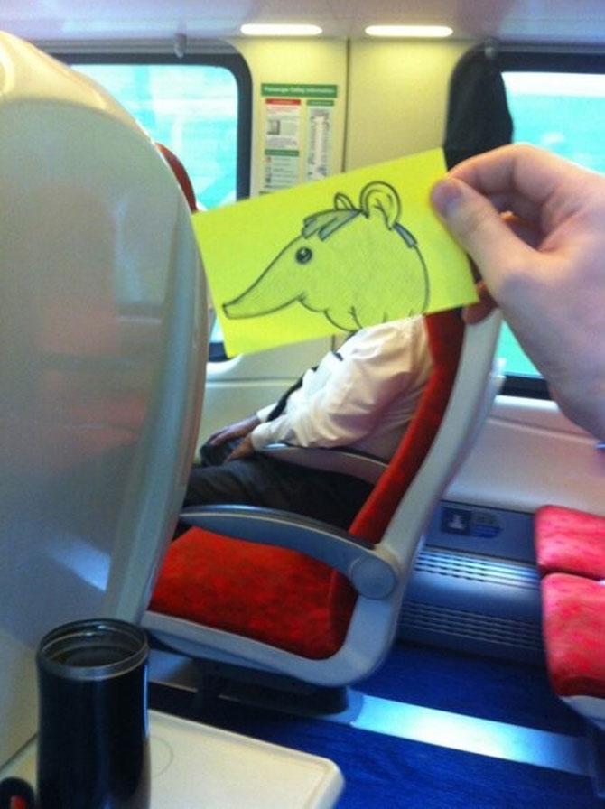 Caricaturi la metrou, de October Jones - Poza 9