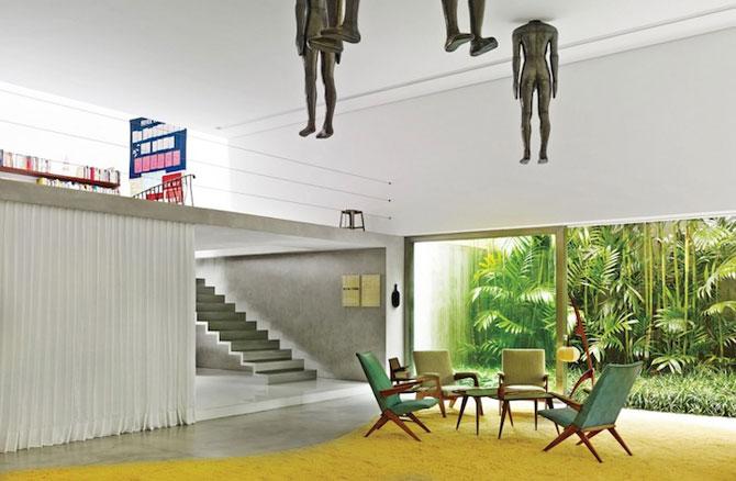 Scara plutitoare din casa muzeu - Casa Cubo - Poza 2