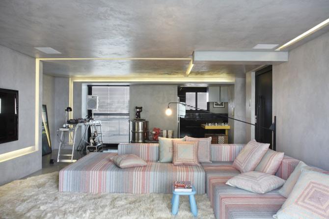Apartament de DJ la Sao Paulo, de Guilherme Torres - Poza 1