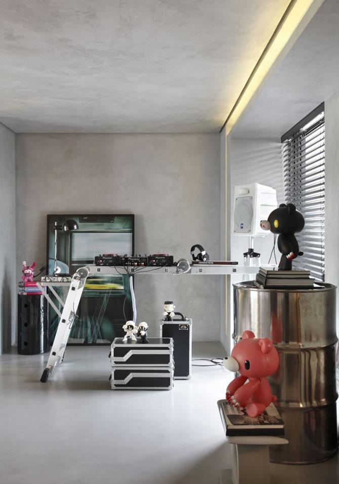 Apartament de DJ la Sao Paulo, de Guilherme Torres - Poza 3