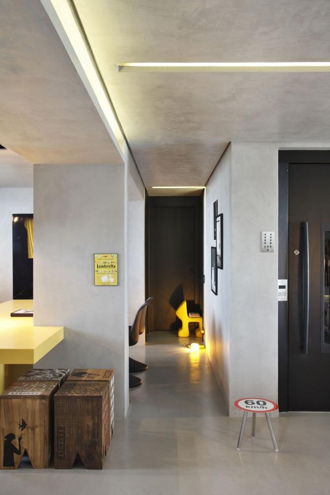 Apartament de DJ la Sao Paulo, de Guilherme Torres - Poza 4