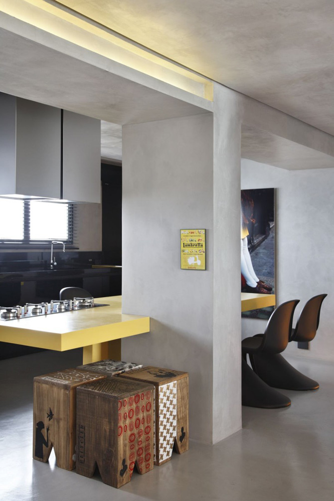 Apartament de DJ la Sao Paulo, de Guilherme Torres - Poza 5