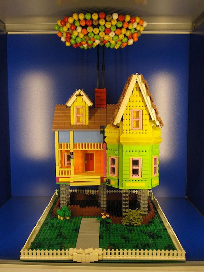 Casa din filmul Up din Lego - Poza 1