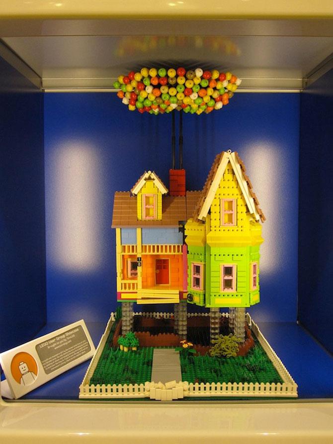 Casa din filmul Up din Lego - Poza 2