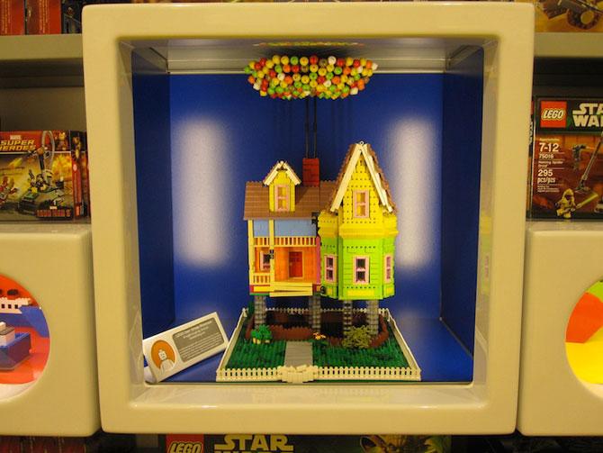 Casa din filmul Up din Lego - Poza 3