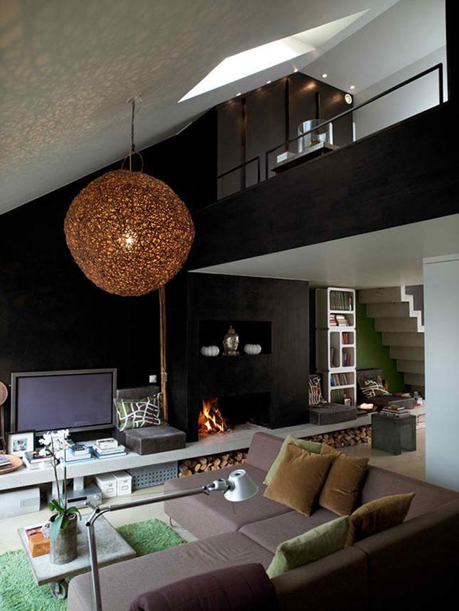 Mansarda de designer la Stockholm - Poza 1