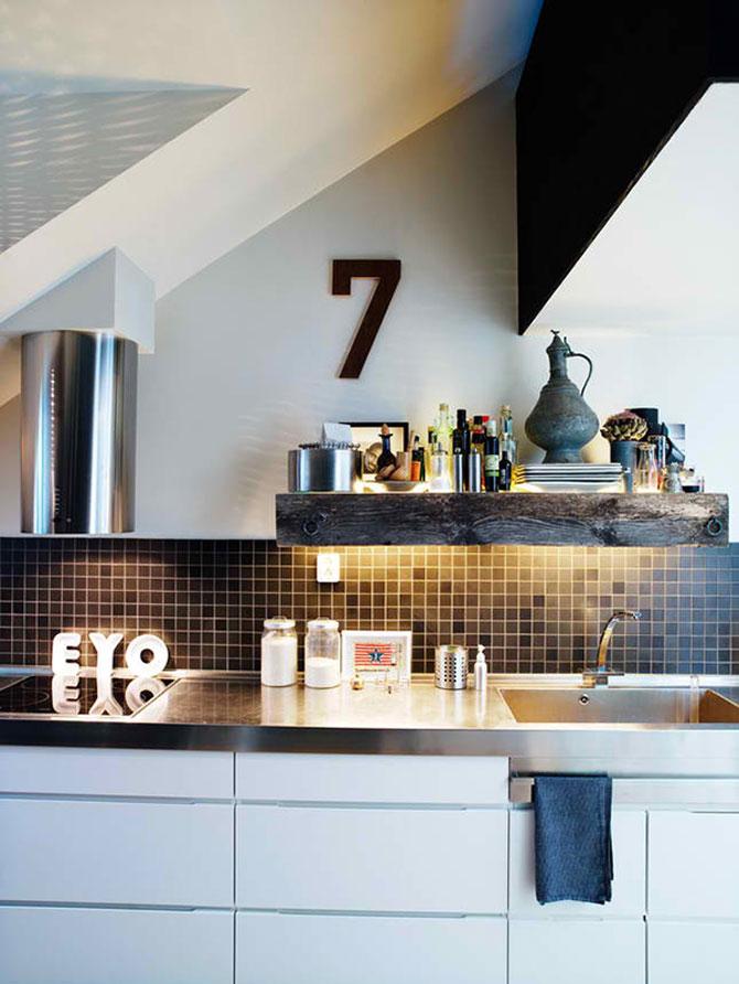 Mansarda de designer la Stockholm - Poza 6