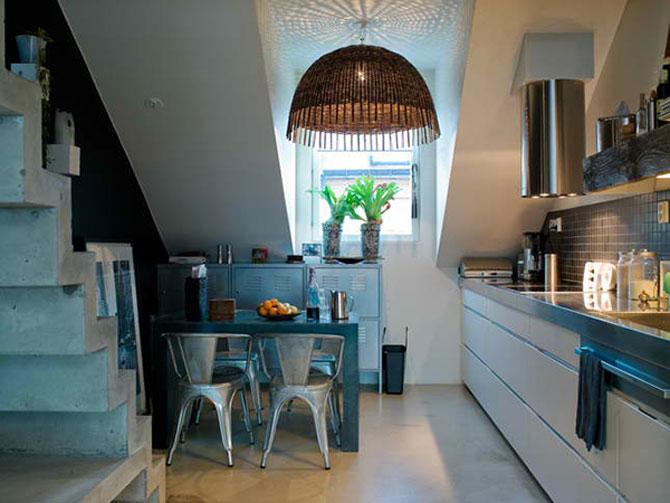 Mansarda de designer la Stockholm - Poza 7