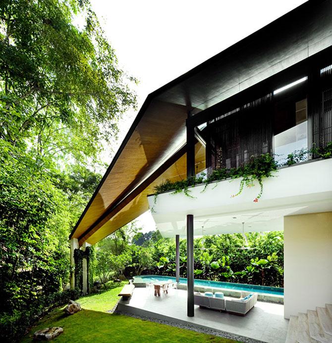 Casa inaripata din Singapore - Poza 1