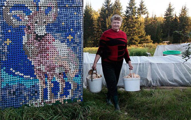 Casa decorata cu 30.000 de capace de o pensionara rusoaica - Poza 4