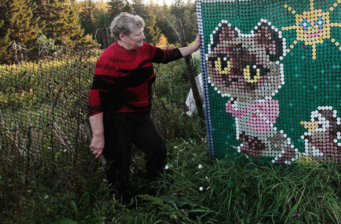 Casa decorata cu 30.000 de capace de o pensionara rusoaica - Poza 5