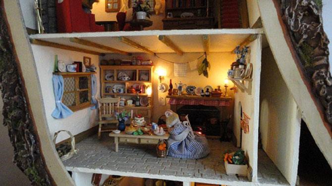 Casa-miniatura in copac, de Maddie Brindley - Poza 3