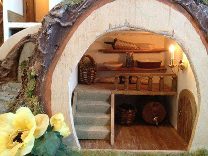 Casa-miniatura in copac, de Maddie Brindley - Poza 6