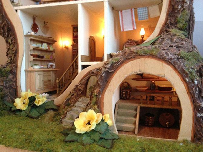 Casa-miniatura in copac, de Maddie Brindley - Poza 8