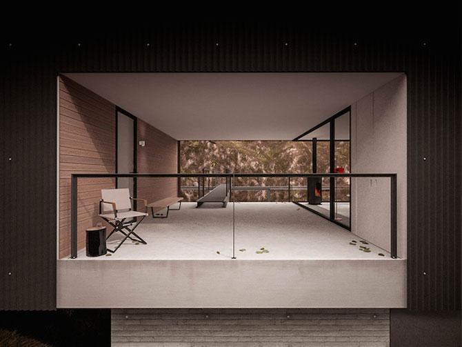 Casa minimalista si suspendata a unui fotograf in Tara Galilor - Poza 3