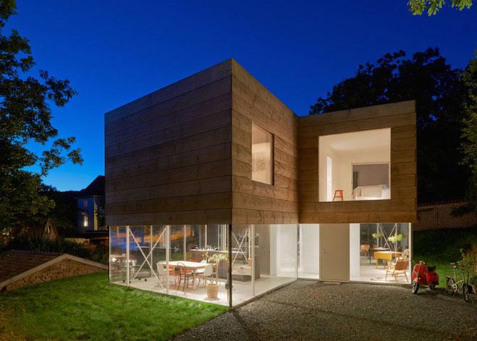 O casa pe jumatate transparenta, in Suedia - Poza 1