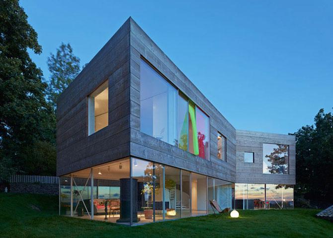 O casa pe jumatate transparenta, in Suedia - Poza 3