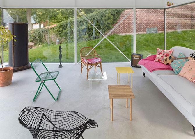 O casa pe jumatate transparenta, in Suedia - Poza 4