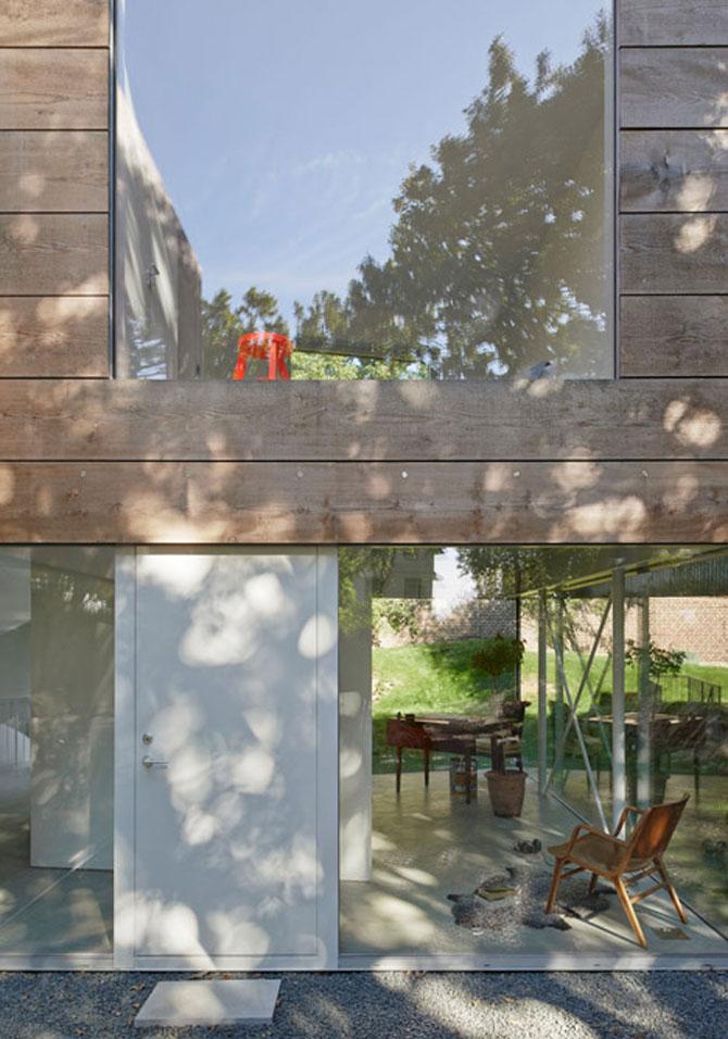 O casa pe jumatate transparenta, in Suedia - Poza 5