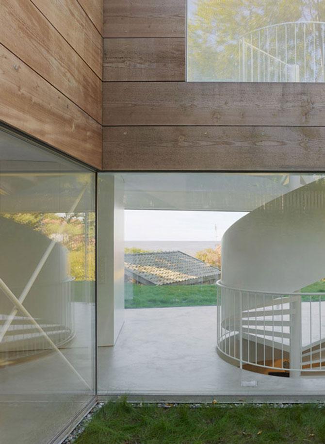 O casa pe jumatate transparenta, in Suedia - Poza 6