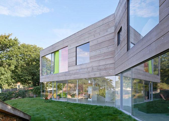 O casa pe jumatate transparenta, in Suedia - Poza 8
