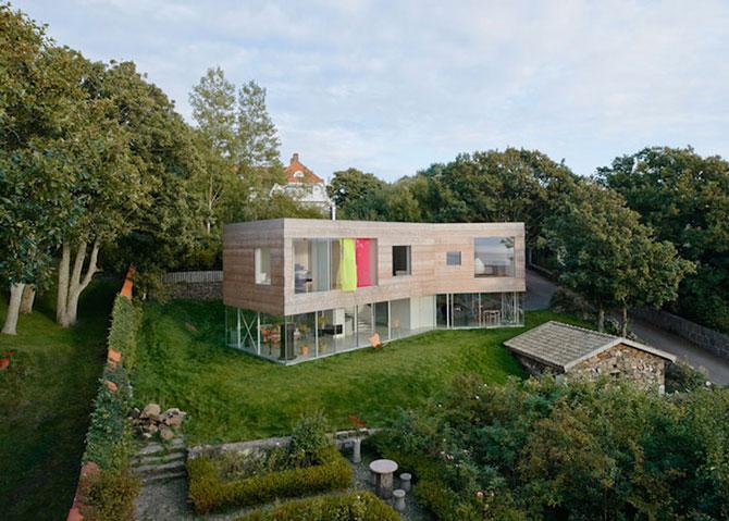O casa pe jumatate transparenta, in Suedia - Poza 9
