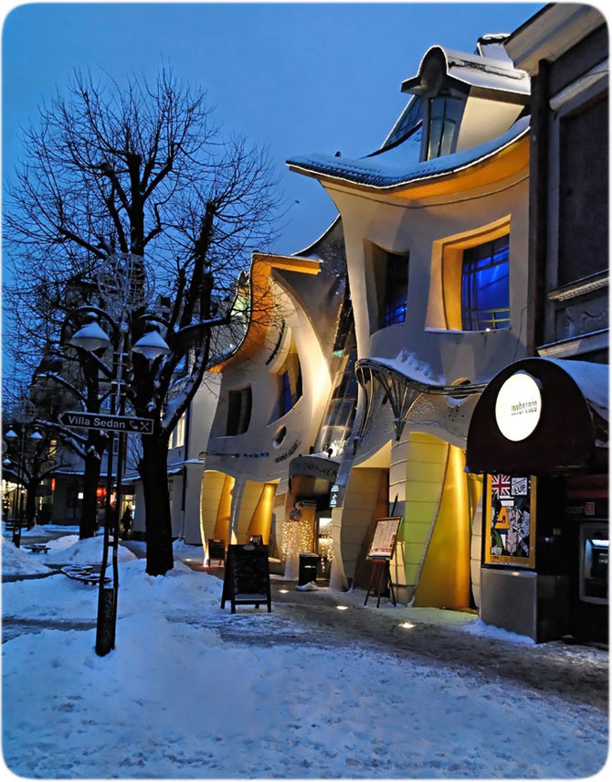 Mall-ul din Casa Stramba, in Polonia - Poza 2