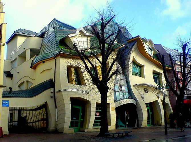 Mall-ul din Casa Stramba, in Polonia - Poza 10