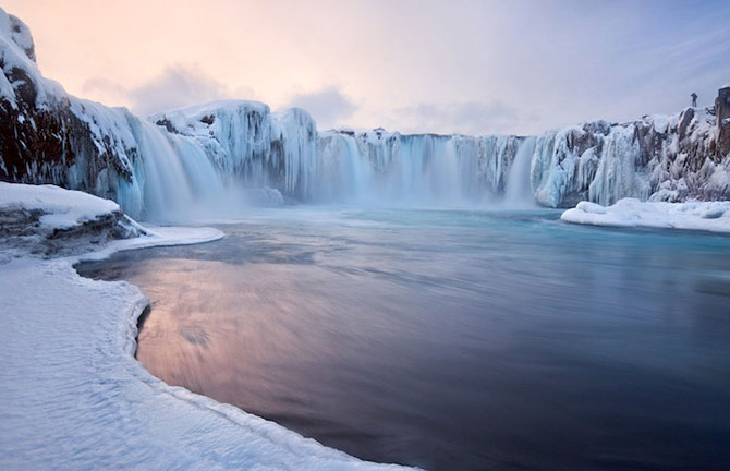 Fotografii incredibile cu Cascada Godafoss, Islanda - Poza 2