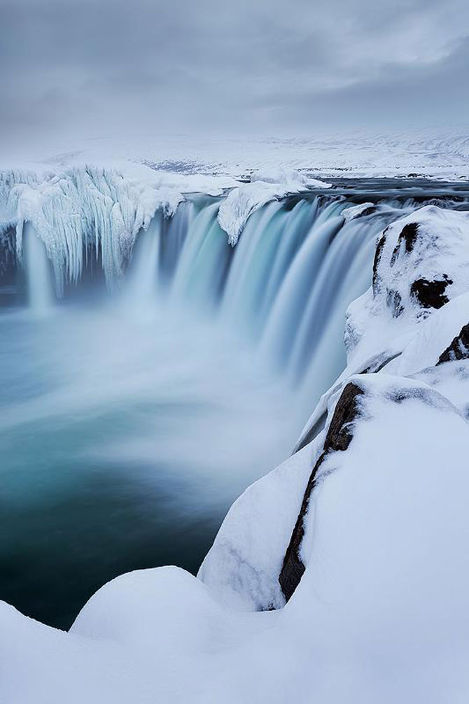 Fotografii incredibile cu Cascada Godafoss, Islanda - Poza 9