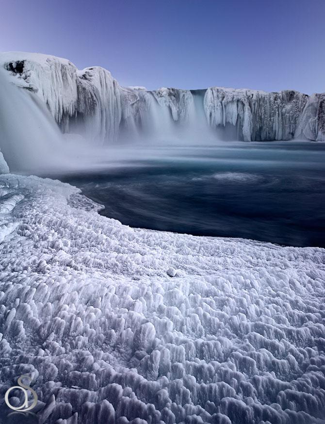 Fotografii incredibile cu Cascada Godafoss, Islanda - Poza 10