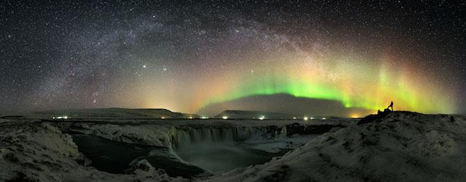 Fotografii incredibile cu Cascada Godafoss, Islanda - Poza 12